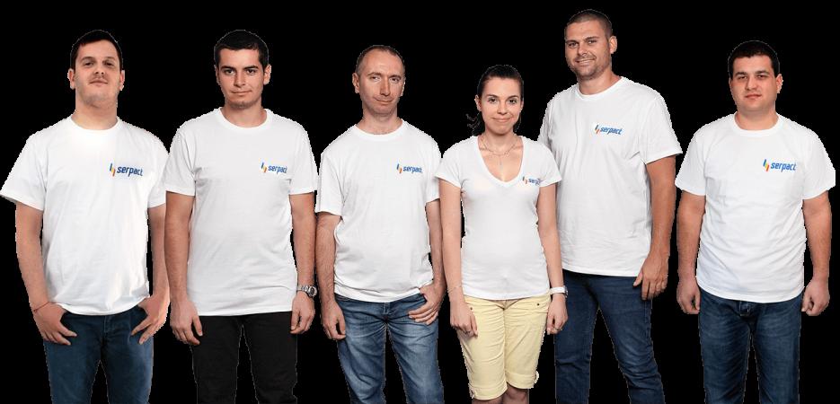 През 2017 година екипът на Serpact успява да се развива и към екипа на фирмата се присъединиха двама нови специалисти.