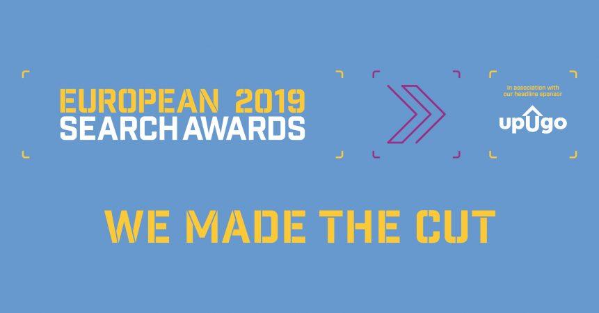 European Search Awards 2019 - Twitter Card - Shortlist