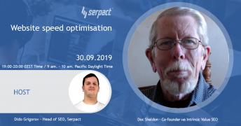 Website speed optimisation with Doc Sheldon