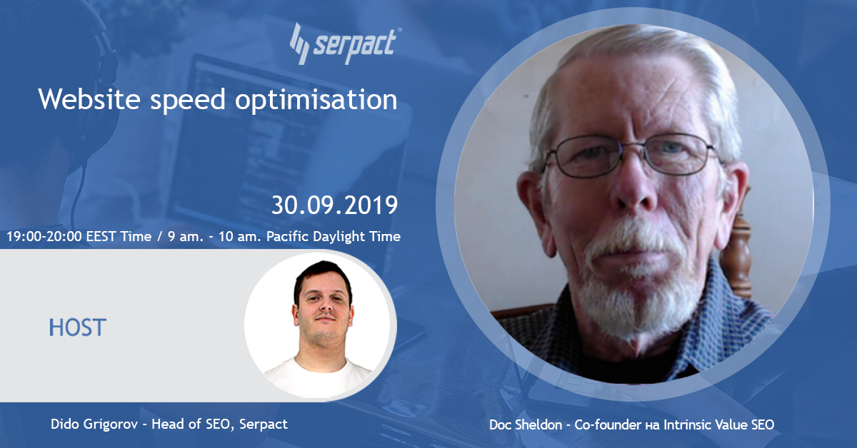 Website speed optimisation with Doc Sheldon