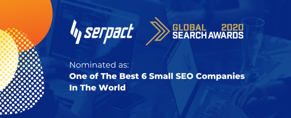 Global Search Awards Serpact 2020