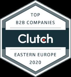 Clutch Top Companies Eastern Europe 2020